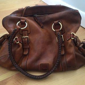 Dooney & Bourke Leather Florentine Satchel, Large